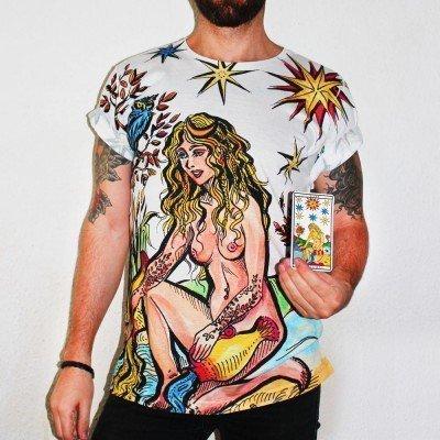 star-tarot-card-unisex-t-shirt