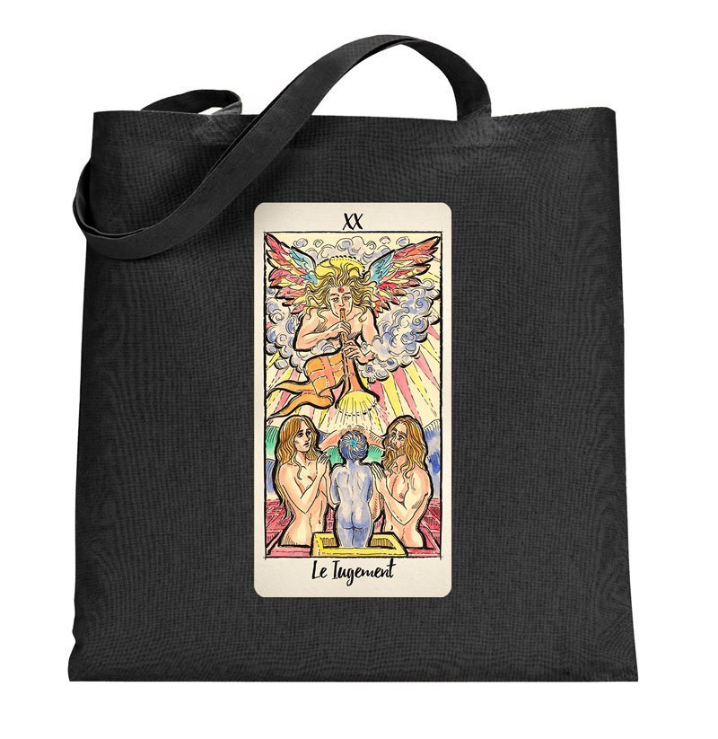 Judgement Tarot Card Tote Bag Tarot T Shirts